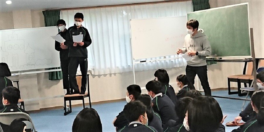 RIC第2号プロジェクト 高校コミュニケーションワークショップ開催!